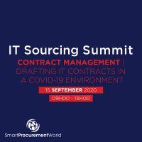 IT Sourcing Summit Contract Management